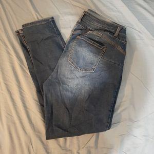 Plus Size High Waist Flattering Skinny Jeans